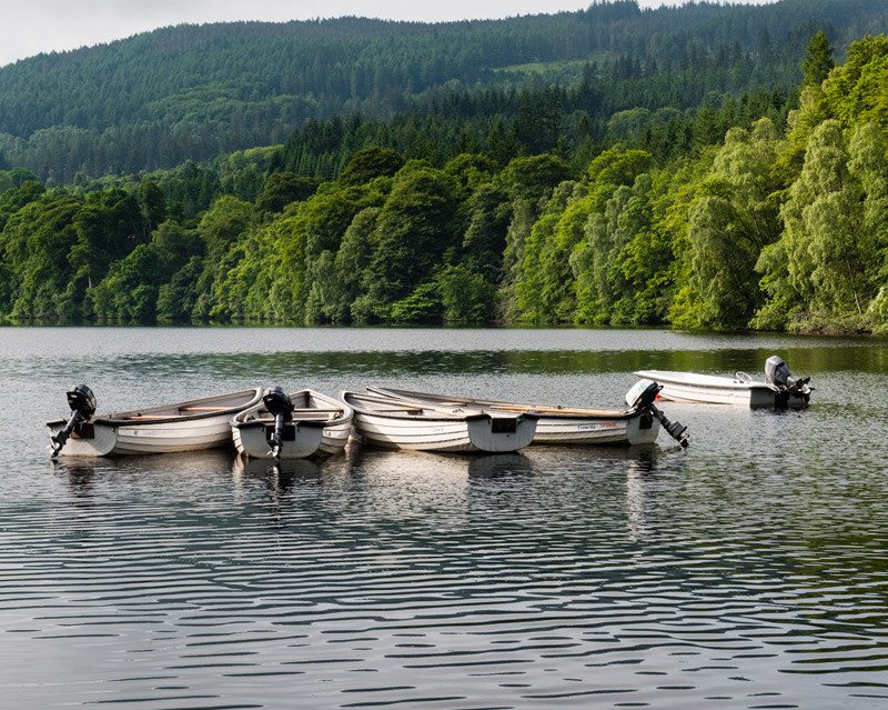 Pitlochry Boating Station Fishing Photo