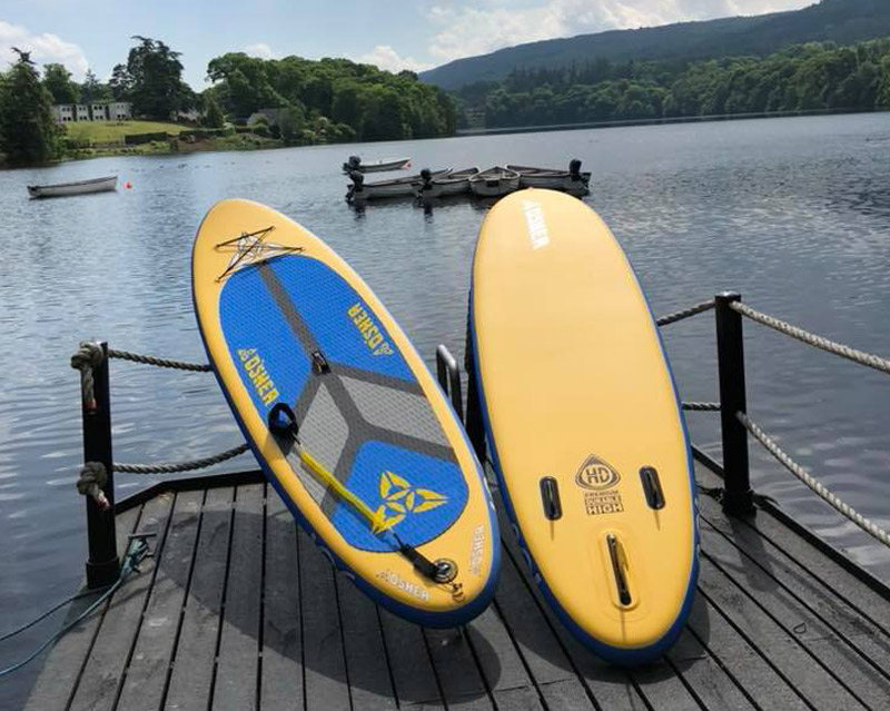 Pitlochry Boating Station Paddle Board Photo
